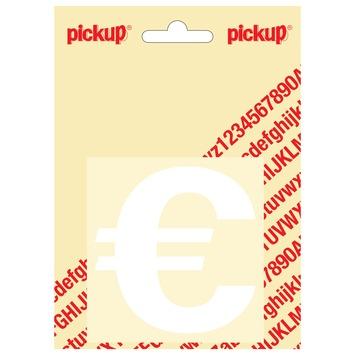 Pickup sticker euro wit