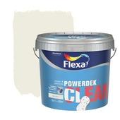 Flexa Powerdek Clean reinigbare muurverf RAL 9010 10 liter