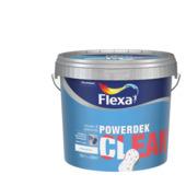 Flexa Powerdek Clean reinigbare muurverf wit 10 liter