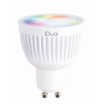 iDual GU10 LED lamp 345 lumen RGB
