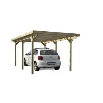 Carport Queen Hout 500x300 cm