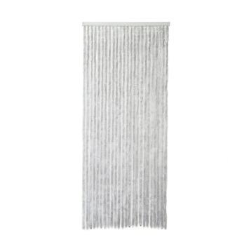 Mestic deurgordijn chenille grijs 100x231.5 cm