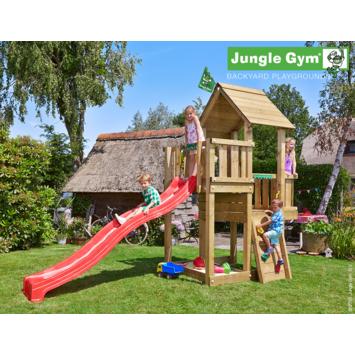 Jungle Gym Cubby Speeltoestel met Glijbaan