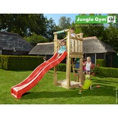 Jungle Gym Tower inclusief korte glijbaan met wateraansluiting