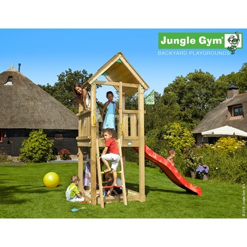 Jungle Gym Club Speeltoestel met Glijbaan