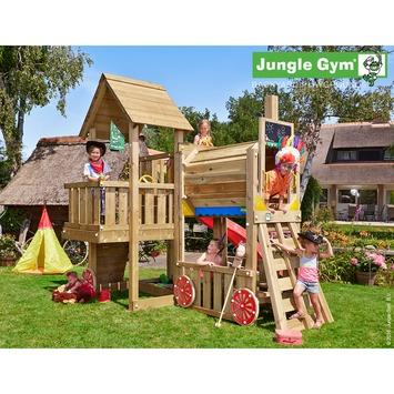 Jungle Gym Cubby Speeltoestel met Glijbaan en Trein