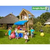 Jungle Gym Club inclusief korte glijbaan met wateraansluiting en winkeltje