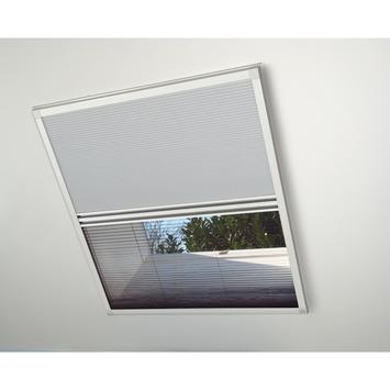 Bruynzeel duoplissé dakraam 500 serie wit 81x121 cm