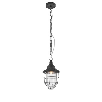 Hanglamp Jesper verweerd grijs