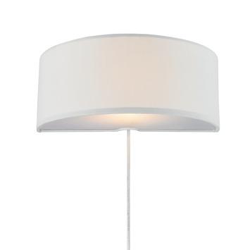 Wandlamp Maan wit