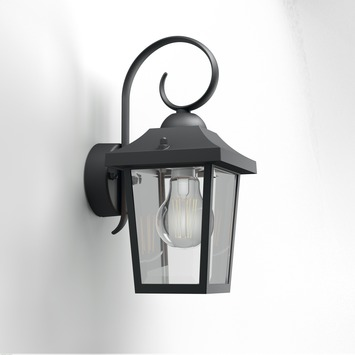 Philips buitenlamp myGarden Buzzard zwart