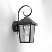 Philips wandlamp Buzzard zwart