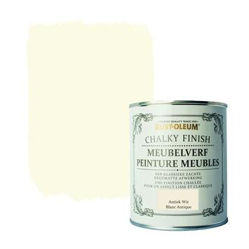 Rust-oleum meubelverf antiek wit 750ml