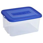 Allibert handy box transparant blauw 25 liter