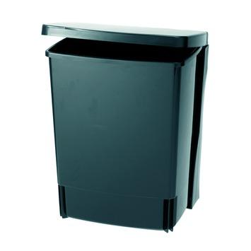 Brabantia Afvalverzamelaar 10 liter 'Built-in Bin' , Black kunststof