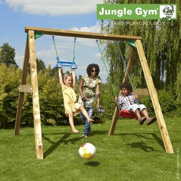 Schommel Jungle Gym met schommelzitje en trapeze