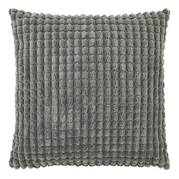 Kussen romy 70x70 donker grijs