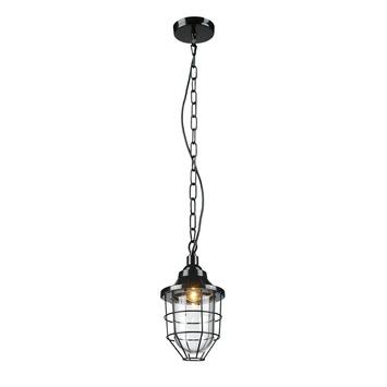 Hanglamp Jesper glimmend zwart