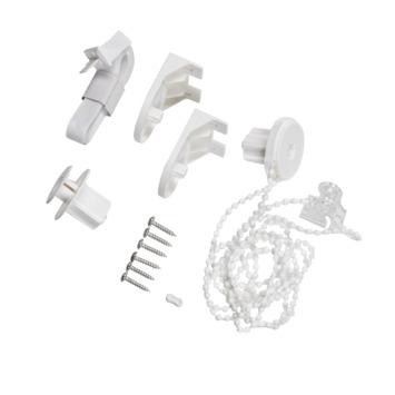 Kettingmechanisme met ketting wit lengte 100 cm