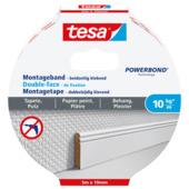 Tesa montagetape behang en pleisterwerk 10 kg/m 5 m