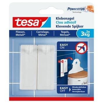 Tesa klevende spijkers tegels en metaal 3 kg 2 stuks