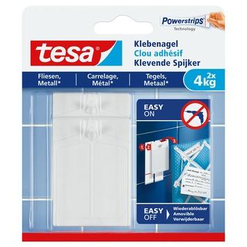 Tesa klevende spijkers tegels en metaal 4 kg 2 stuks