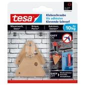 Tesa klevende schroef steen en baksteen driehoekig 10 kg 2 stuks