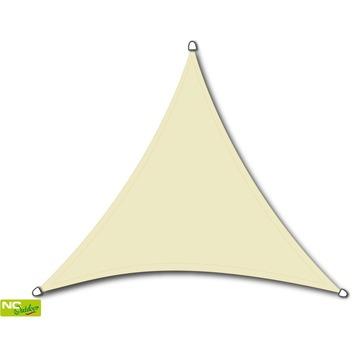 Schaduwdoek driehoek 3,6 meter wit