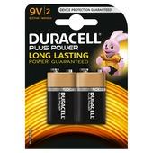 Duracell Plus Power 9V 2 stuk