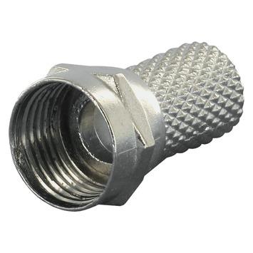 Q-Link coax F-wartel 6mm 6stuks
