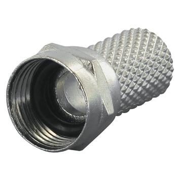 Q-Link coax F-wartel waterdicht 6mm 2 stuks