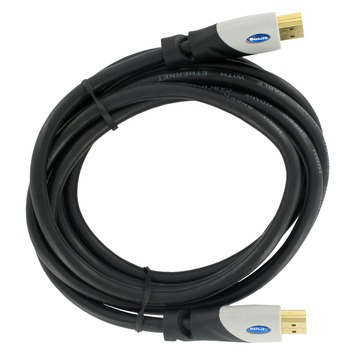 Q-Link HDMI kabel high speed gold plated 3D 2 meter zwart