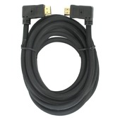 Q-Link HDMI kabel high speed gold plated 3D 5 meter haaks