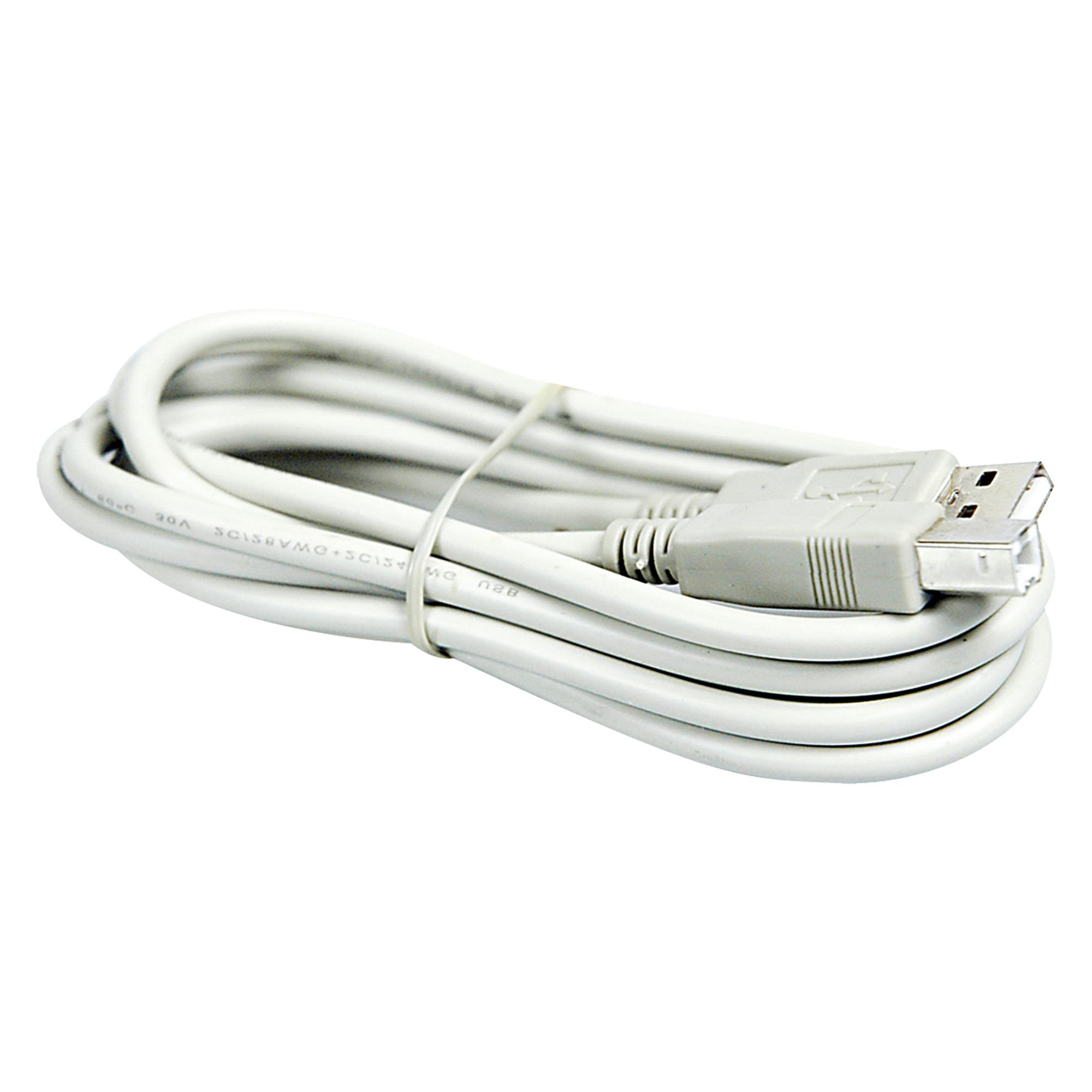 Q-Link USB kabel 2.0 printer-scanner 2 meter grijs