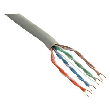 Q-Link UTP kabel CAT5 AWG26 50 meter wit