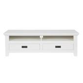 Perpignan tv meubel grenen wit 46x139x44 cm