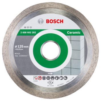 Bosch Prof diamantdoorslijpschijf keramiek 125x22,23x1,6x7mm 1st