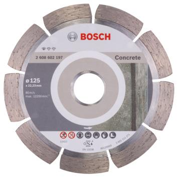 Bosch Prof diamantdoorslijpschijf beton 125x22,23x1,6x10mm 1st