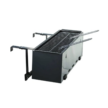 Bbq Rooster Gamma.Balkon Barbecue 61x31x24 Cm