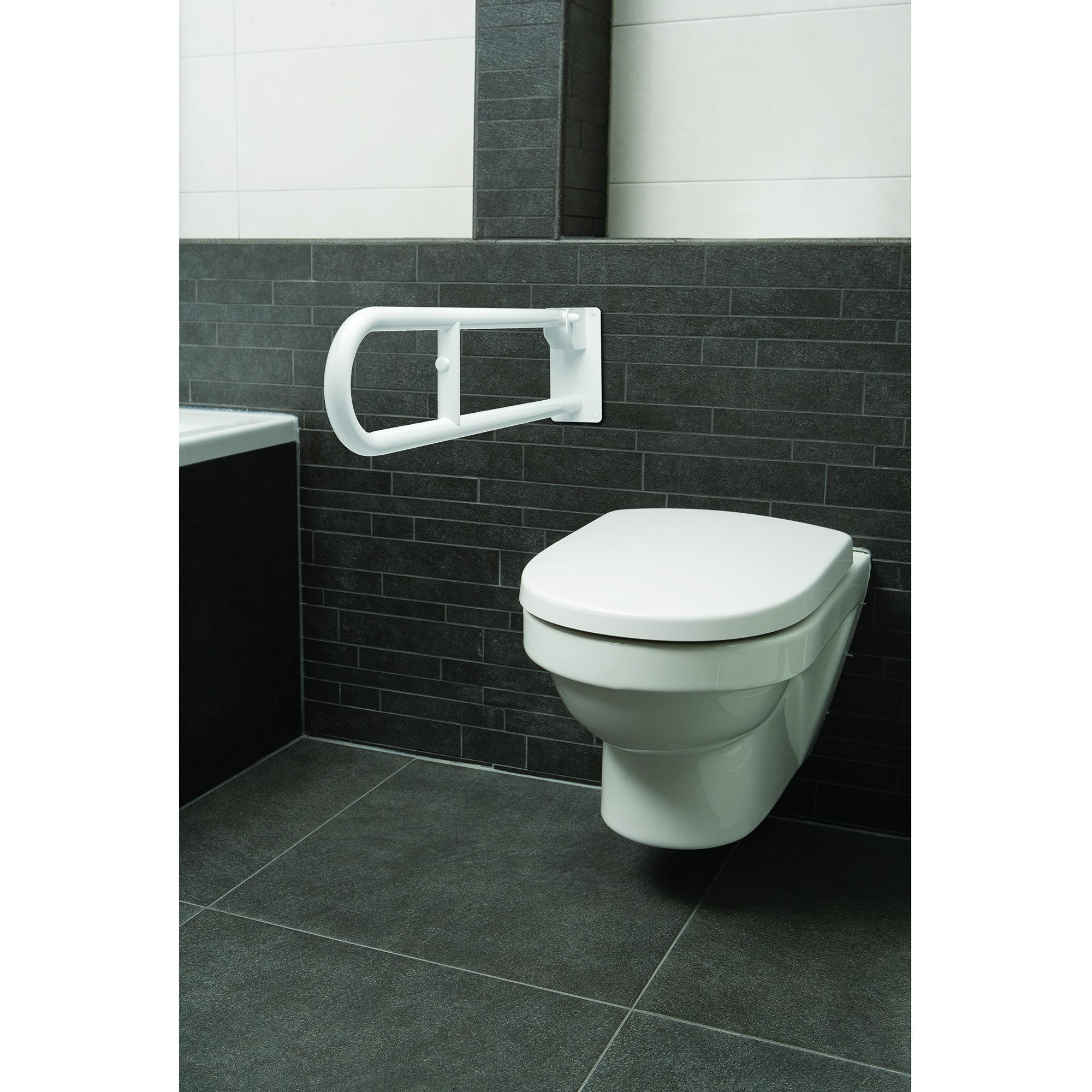 Toiletbeugel Wit Secucare Opklapbaar 600 Mm