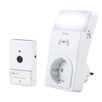 Alecto Care draadloze deurbel met flits ACD-18