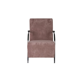 Halifax fauteuil ribstof taupe