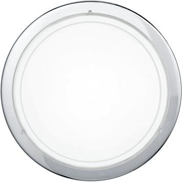 EGLO plafondlamp Planet chroom/glas