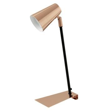 Eglo bureaulamp Travale koper