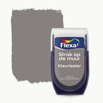Flexa Strak op de muur Kleurtester Leisteengrijs mat 30ml