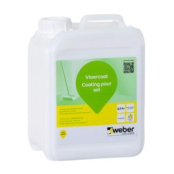 Weber level vloercoat 2,5 liter