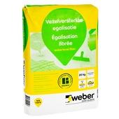 Weber vloervlak egalisatie vezelversterkt 20 kg.
