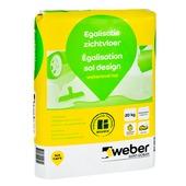 Weber vloervlak egalisatie zichtvloer 20 kg.