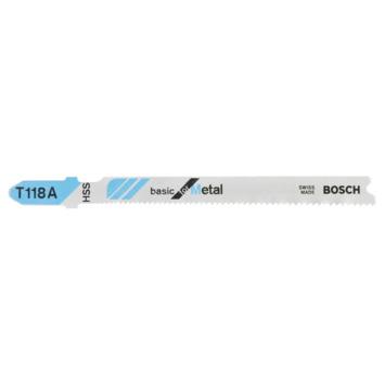 Bosch Prof decoupeerzaagblad T118 A metaal 5st
