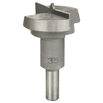 Bosch Prof scharniergatboor hard metaal 35x56mm D8 1st